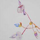 Miniature Wild Orchid by Warren  Thompson
