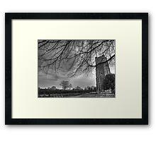 Over Hanging Tree Framed Print