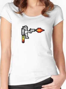jetpack sticker Women's Fitted Scoop T-Shirt