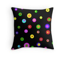 DOTTY SPOTS OR SPOTTY DOTS Throw Pillow