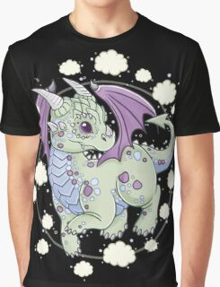 Dragon in the Clouds Graphic T-Shirt