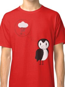 unknown penguin thoughts Classic T-Shirt