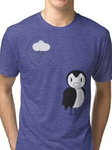 unknown penguin thoughts Tri-blend T-Shirt