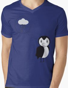 unknown penguin thoughts Mens V-Neck T-Shirt