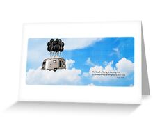 The Knack of Flying Greeting Card