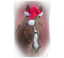 Holiday Horse Ken Poster