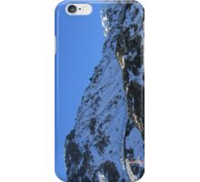 Mountain landscape iPhone Case/Skin