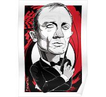 Daniel Craig as James Bond Poster