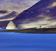 Pyramid Lake Sunset by SB  Sullivan