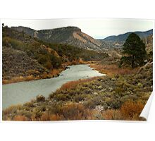 Rio Grande River - New Mexico Poster