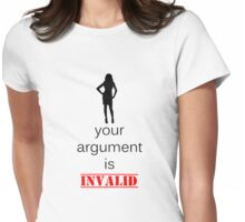 Invalid Argument Womens Fitted T-Shirt