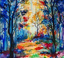 Forest by Slaveika Aladjova