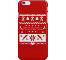 don't come home for xmas iPhone Case/Skin