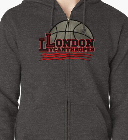 London Lycanthropes Zipped Hoodie