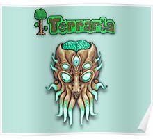 Terraria Moon Lord Head Poster