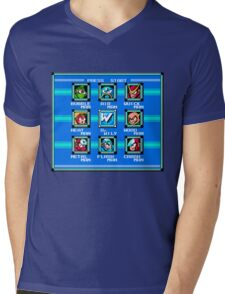 Press Start Mens V-Neck T-Shirt