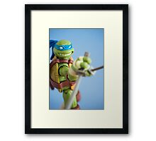The Leader Framed Print