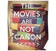 The Movies Are Not Canon Poster