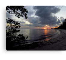 Farewell To The Day ~ Part Twenty-Two Canvas Print