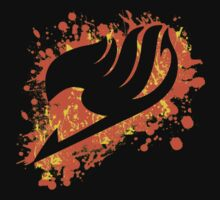 Fairy tail splatter by simoechz