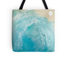 Blue Tube Tote Tote Bag