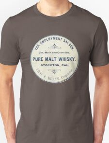 Vintage Whiskey from California T-Shirt