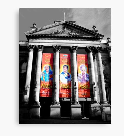 Theatre Royal, Pantomine 2012 Canvas Print