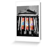 Theatre Royal, Pantomine 2012 Greeting Card