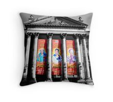 Theatre Royal, Pantomine 2012 Throw Pillow