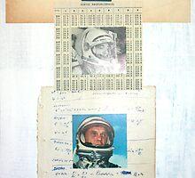 NOSOTROS PUSIMOS AL PRIMER HOMBRE EN LA LUNA, EL SOLO QUERIA SABER SI EL CIELO EXISTIA ARRIBA DE EL (We put the first man on the moon, and he wanted to know if there was a heaven above) by Alvaro Sánchez
