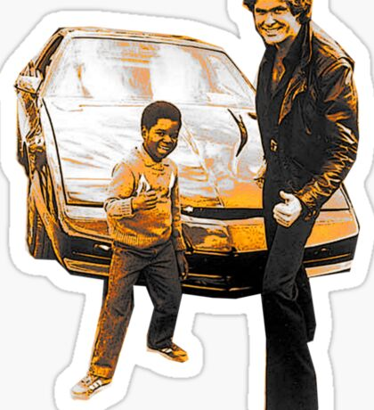 Arnold & Michael Sticker