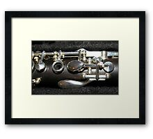 The Throat Notes  Framed Print