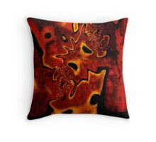 Corroded Dreams Throw Pillow