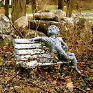 Sitting Statue by Lee roberts