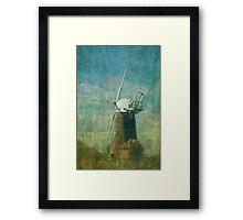 Windmills of Your Mind Framed Print