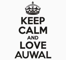 Keep Calm and Love AUWAL Kids Clothes