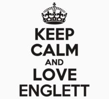 Keep Calm and Love ENGLETT Kids Clothes