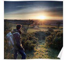 Sunset Watcher Poster