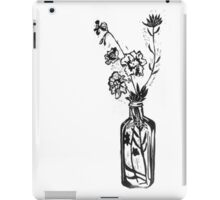 Still life with geranium iPad Case/Skin