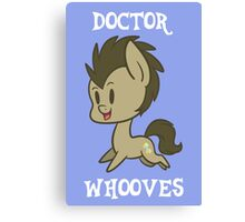 My Little Pony: Chibi Doctor Whooves Canvas Print