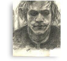 Heath Ledger-Joker Canvas Print