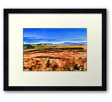 AUTUMN LANDSCAPE - FINE ART Framed Print