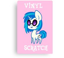My Little Pony: Chibi Vinyl Scratch Canvas Print