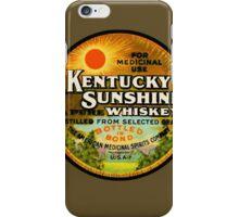 Kentucky Sunshine Whiskey iPhone Case/Skin