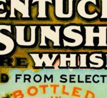 Kentucky Sunshine Whiskey Sticker