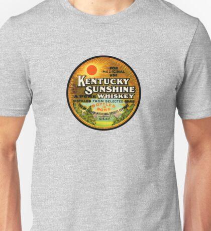 Kentucky Sunshine Whiskey Unisex T-Shirt