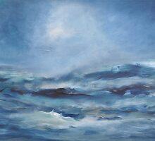 rough sea by Iris Lehnhardt