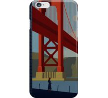 Vertigo-Golden Gate iPhone Case/Skin