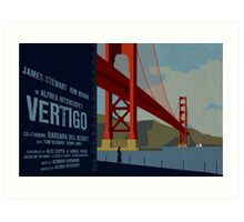 Vertigo-Golden Gate Art Print