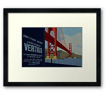 Vertigo-Golden Gate Framed Print